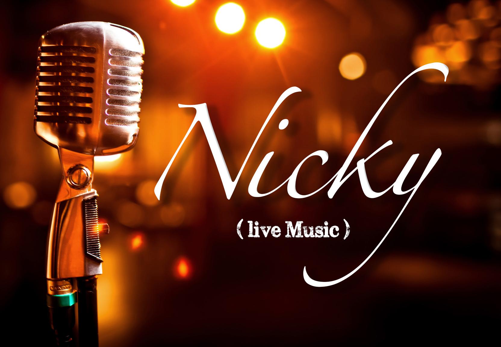 NICKY concert à la table