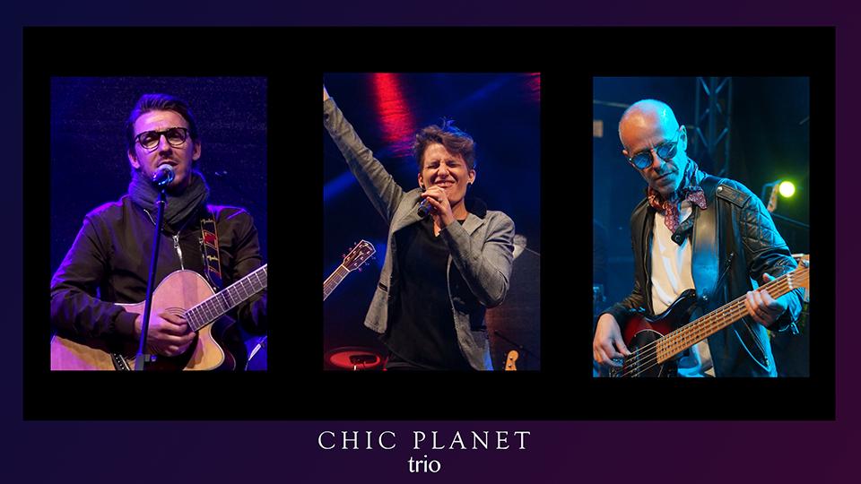 Dinner Concert – Chic Planet TRIO