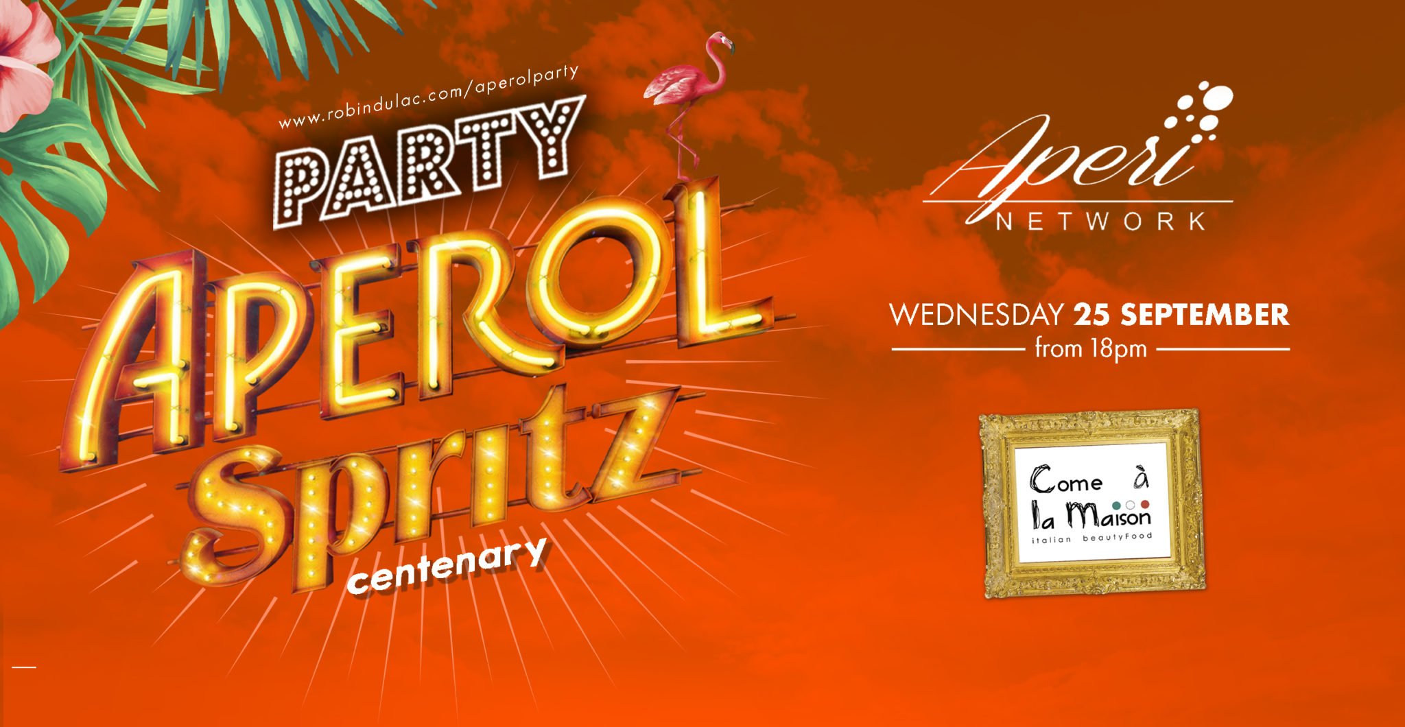 Aperol Spritz Party – 100 years of Joy