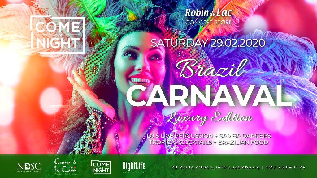 Brazil Carnaval at Come à la Cave