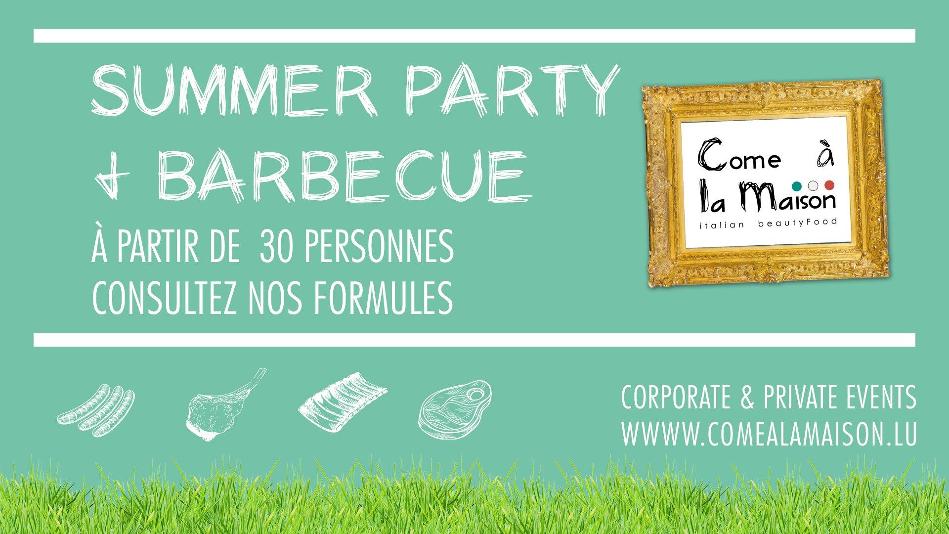 Summer Party & Barbecue d'été 2020