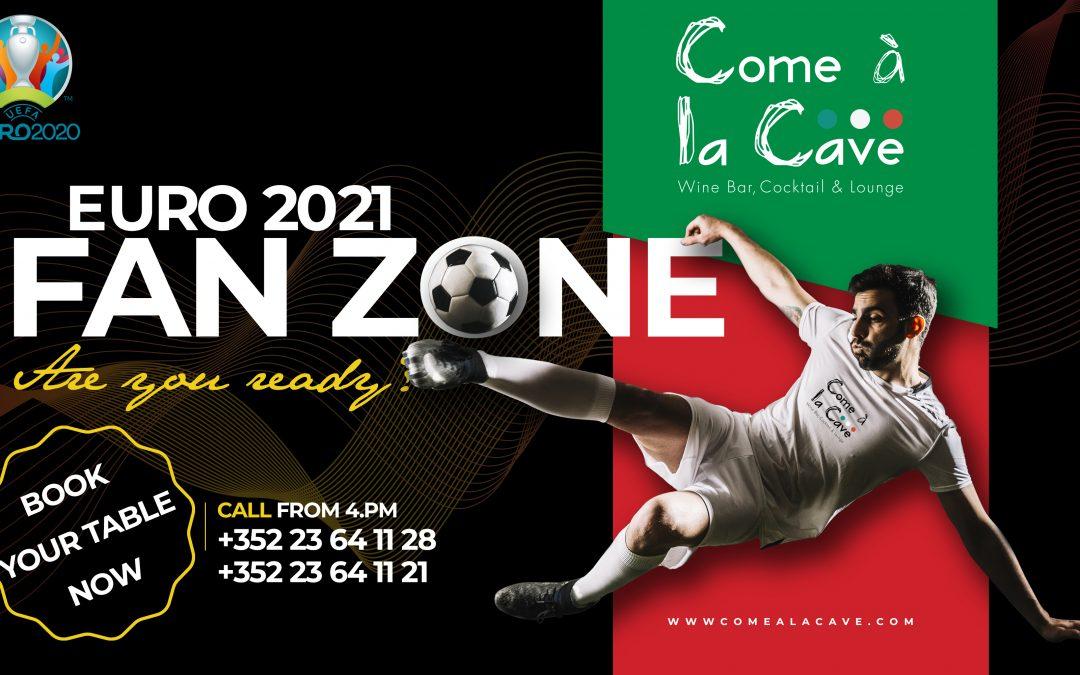 Euro 2020 à Come à la Cave